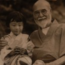 Takahashi with grand-daughter