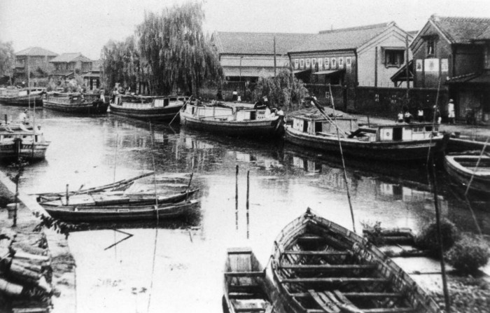 Life on the River Tone - early twentieth century
