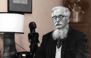 William Empson in 1965