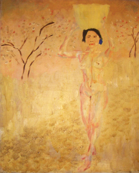 """Wiilliam's Painting"" - Empson's painting of his Japanese girlfriend Haru."