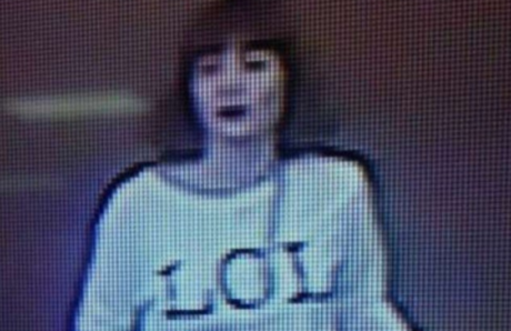 The Vietnamese woman arrested by Malaysian authorities, captured by security cameras just before the attack on Kim Jong Nam