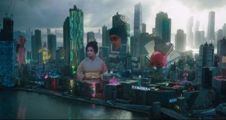 "The generic Asian metropolis that takes the place of the fictional Japanese city of Nihama, capital of Nihama Prefecture, in the original manga of ""Ghost in the Shell""."