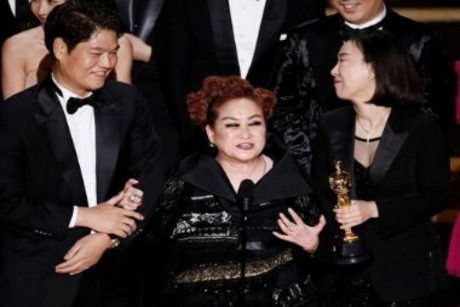 Mikey Lee at the 2020 Oscars